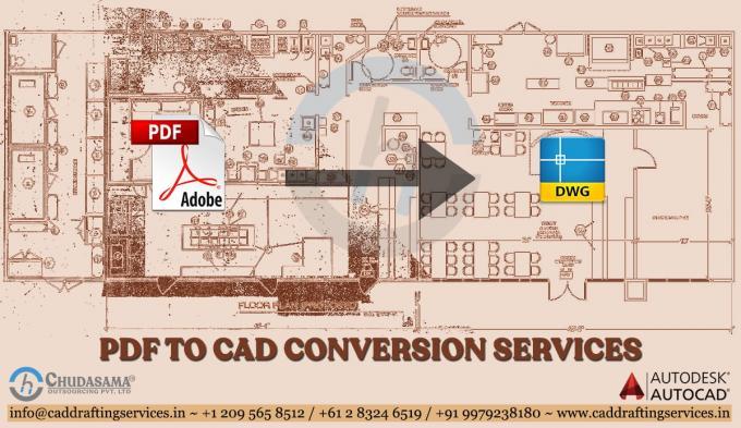 PDF to CAD Conversion Services