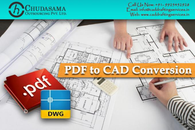 PDF to CAD Conversion | Paper to CAD Conversion | PDF to DWG AutoCAD