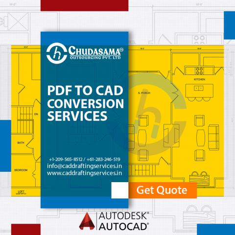 PDF to CAD Conversion | Scan PDF to CAD Drawing Services