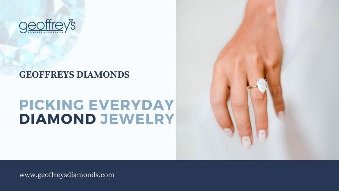 Tips on picking everyday diamond jewelry