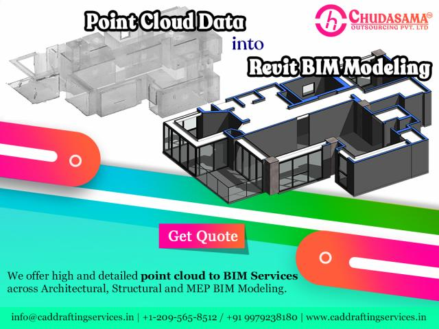 Point cloud to BIM Services | Point Cloud to CAD Conversion