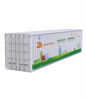 Containerized Hybrid Solar Inverter Power System 10KW~400KW