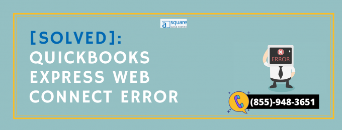 Learn To Resolve QuickBooks Express Web Connect Error.
