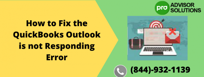 How to Fix the QuickBooks Outlook is not Responding Error | Diary Store