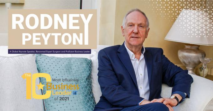 Rodney Peyton: A Global Keynote Speaker, Renowned Expert Surgeon and Proficient Business Leader