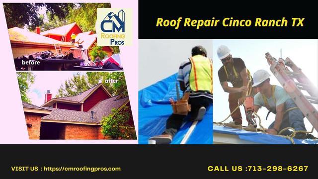 Roof Repair Cinco Ranch TX