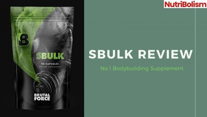 SBulk bodybuilding supplement: why it's getting so popular?