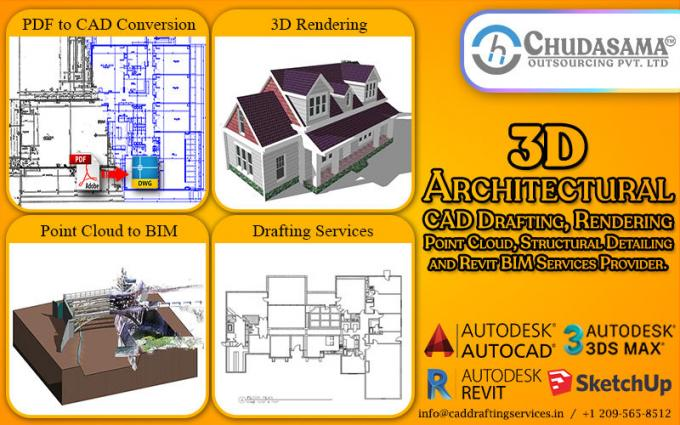 Architectural 3D Rendering | CAD Conversion | Point Cloud to Modeling - COPL