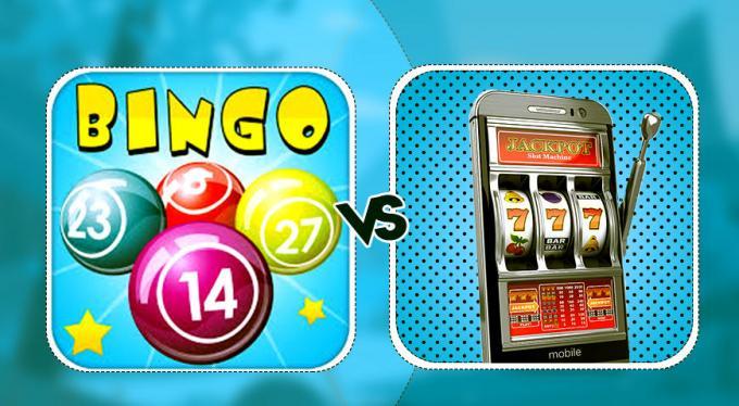 Slots Game Vs. Bingo Games