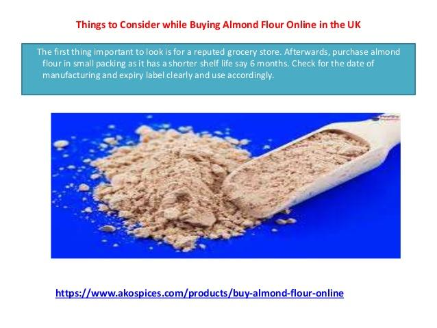 Stop Eating Wheat Flour by Buying Almond Flour Online UK