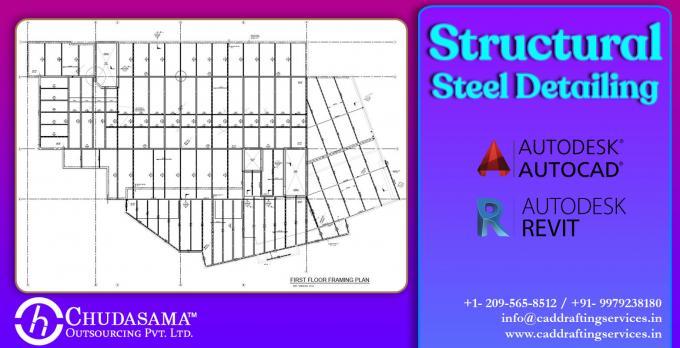 Structural Steel Detailing | Steel Fabricators Drawings - COPL