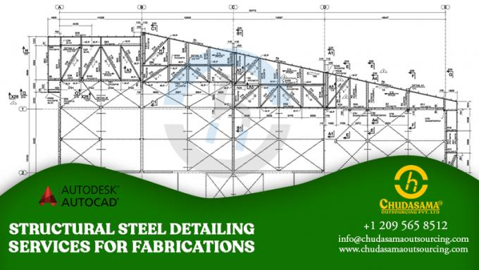 Structural Steel Detailing Services for Fabrications – Chudasama Outsourcing