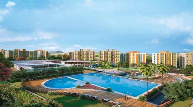 Buy 1 2 bhk apartments and shops for sale in Puraniks City Neral