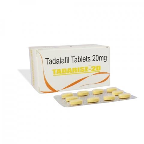 Tadarise 20 | Tadalafil 20mg | Primedz