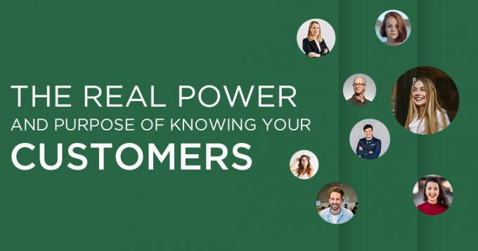 The Real Power & Purpose of Knowing your Ecommerce Customers