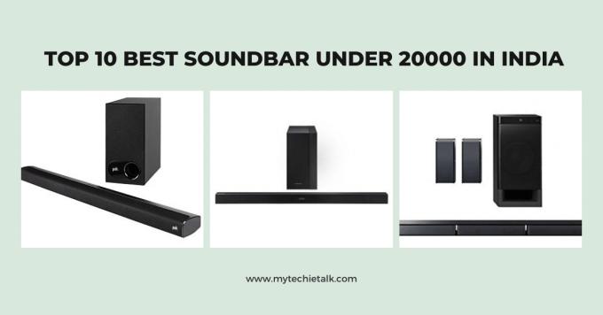 Top 10 Best Soundbar Under 20000 In India 2021 - Mytechietalk