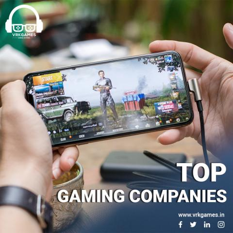 Top 10 Gaming Companies Of The World In 2021