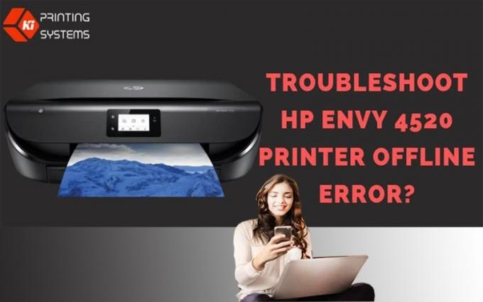 Troubleshoot the HP Envy 4520 Printer Offline Error