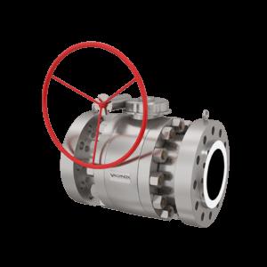 trunnion ball valve | Valvinox Italy