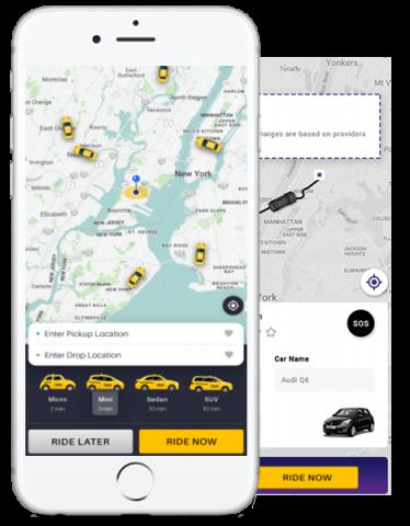 Uber clone app development company