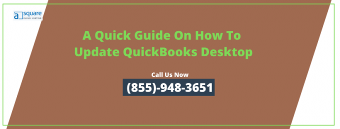 QuickBooks desktop needs to update your company file | Check How!