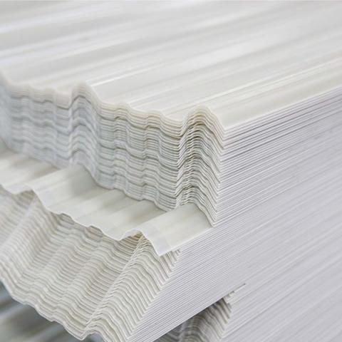 Wholesale Plastic Roofing Material | UPVC Plastic Trapezium Roof Sheet