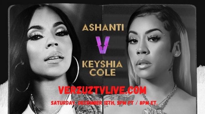 Watch Ashanti vs Keyshia Cole Verzuz Battle Live Stream - Verzuz Battle Live