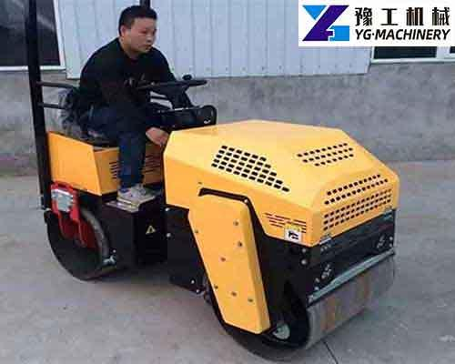 Seat Driving Road Roller for Sale in Zambia | Ride-on Roller Manufacturer