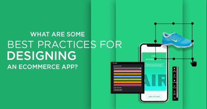 What are Some Best Practices for Designing an Ecommerce App?
