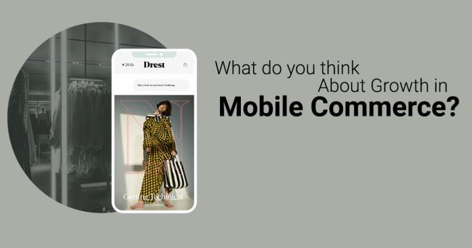 What do you Think About Growth in Mobile Commerce - Analysis