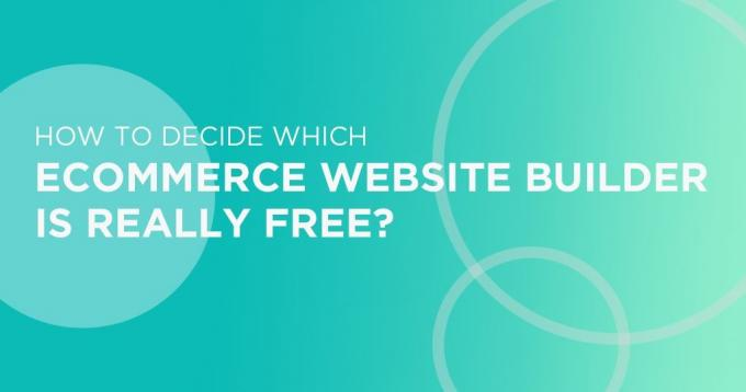 What is a URL of a Free Ecommerce Website Builder
