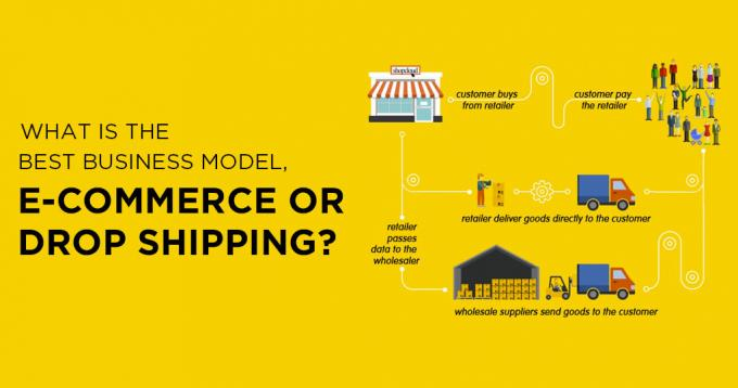 What is the Best Business Model, Ecommerce or Drop Shipping?