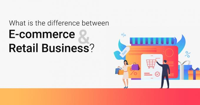 What is the Difference Between Ecommerce and Retail Business