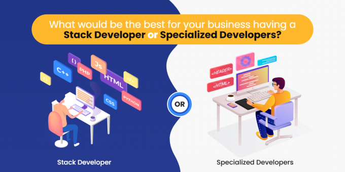What would be the best for your business having a Stack Developer or Specialized Developers?