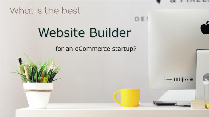 What is the best website builder for an eCommerce startup?