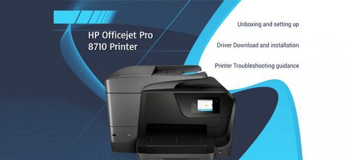 how to install hp printer oj pro 8710