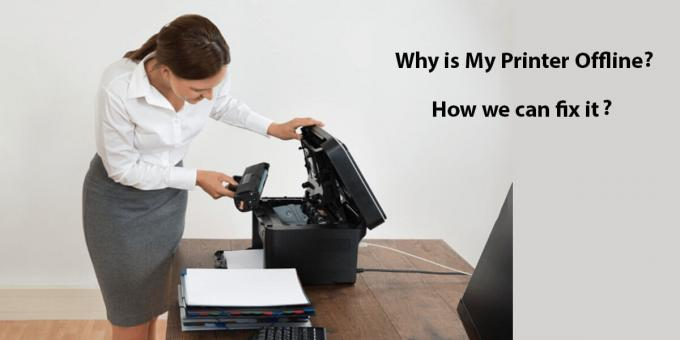 Why is My Printer Offline? How we can Fix it?