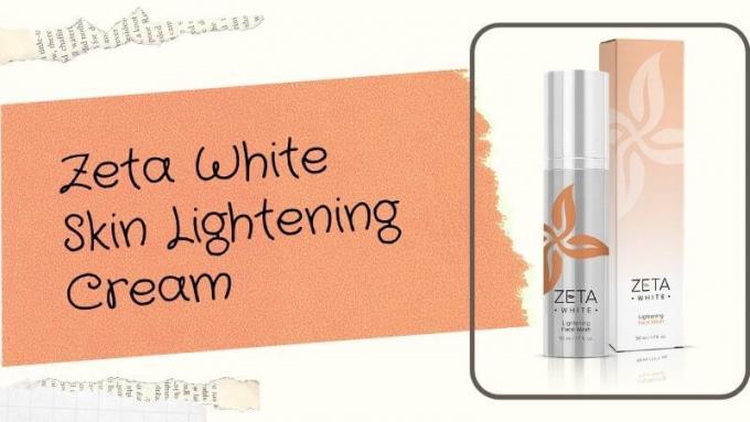 Zeta White Cream Results - Natural Skin Lightening Formula