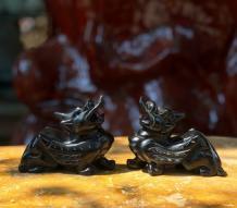 Tỳ Hưu Đá Obsidian Tự Nhiên
