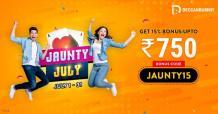 Bonus downpour at Deccan Rummy this July! - Blog