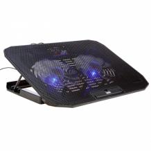 SOLO MaxiCool Laptop Cooling Pad with 2 Fans & Adjustable Height