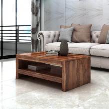 Buy Sheesham Wood Coffee Table Online - PlusOne India