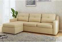 L Shaped Sofa - Buy L Shape Sofa Sets Online Upto 60% OFF - PlusOne India