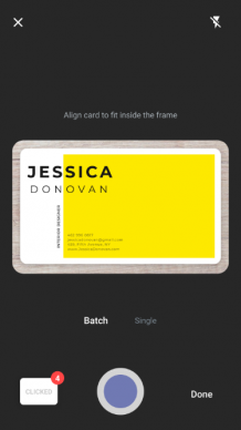 Can I Scan Business Cards to Google?
