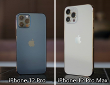 Different Camera Improvements between the iPhone 12 Pro and Pro Max