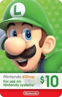 Nintendo Eshop card Code