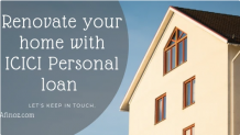Renovate your Home with ICICI Personal Loan