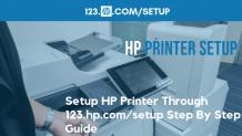 1-855-788-2810 How to Setup 123 HP Com Printer With 123.hp.com/setup