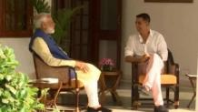 From Mamata's kurtas to anger-management, 7 things Modi told Akshay