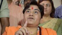 Terrorist, go back: NSUI workers, students tell BJP's Pragya Thakur
